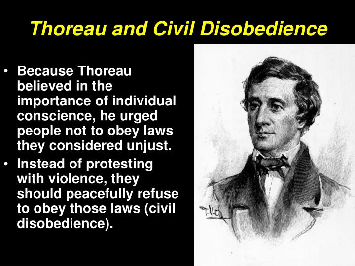 thoreaus belief in government Published in 1849 under the title resistance to civil government, it expressed  thoreau's belief that people should not allow governments to.
