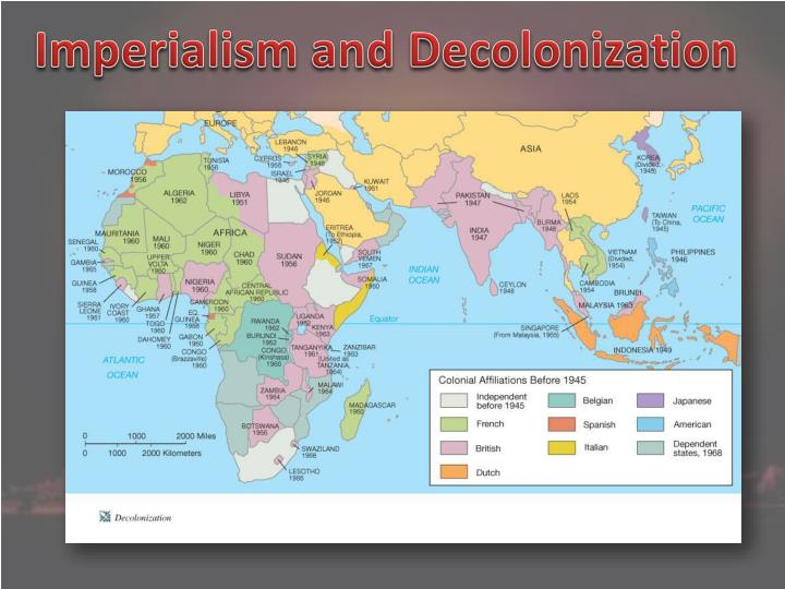 Imperialism and Decolonization