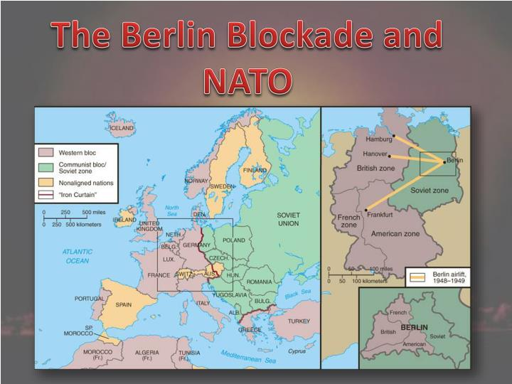 The Berlin Blockade and NATO