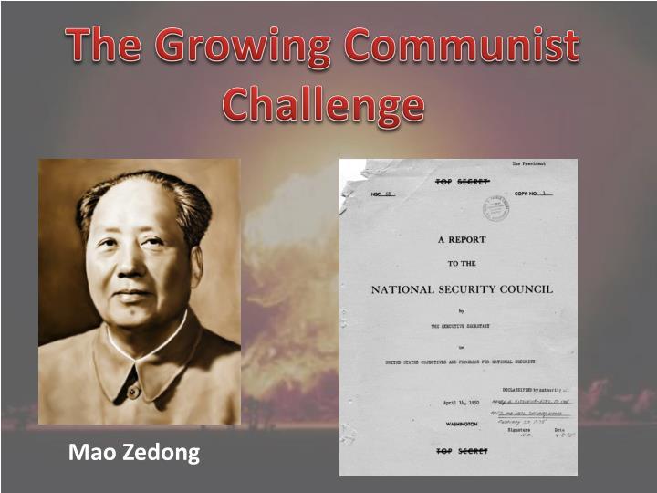 The Growing Communist Challenge