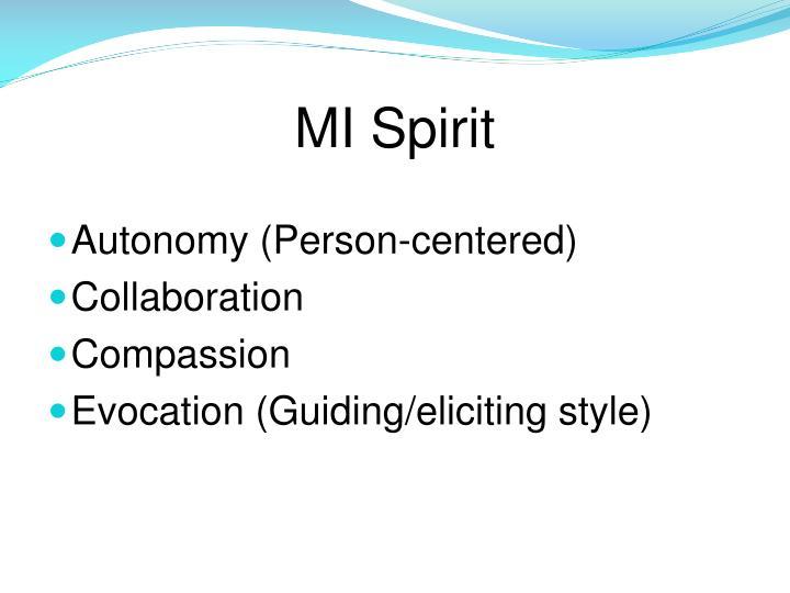 MI Spirit