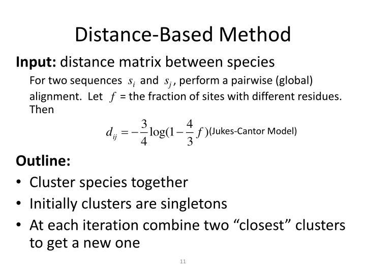 Distance-Based Method