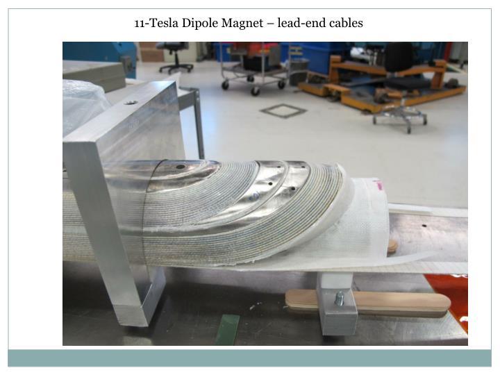 11-Tesla Dipole Magnet – lead-end cables