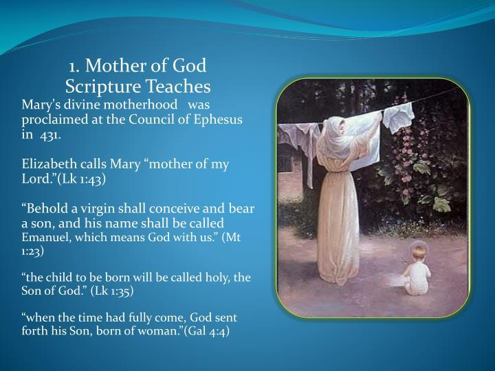 1. Mother of God