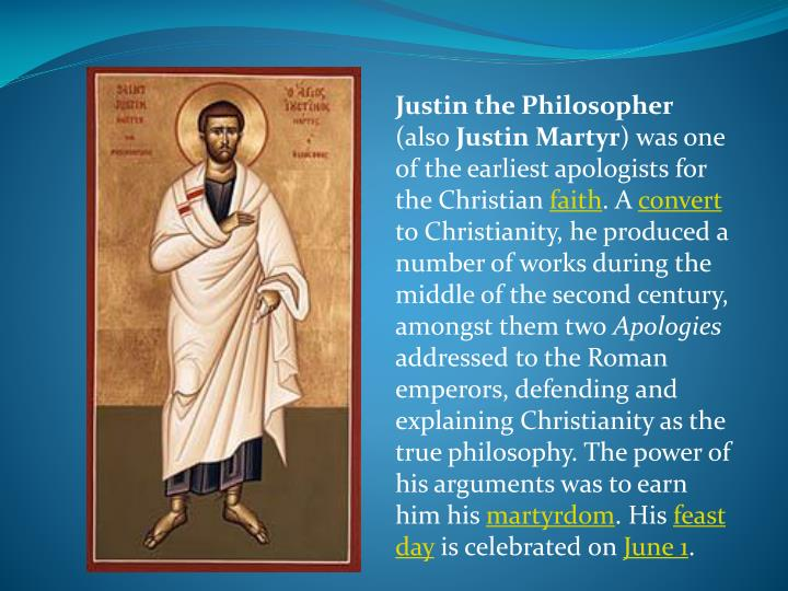 Justin the Philosopher