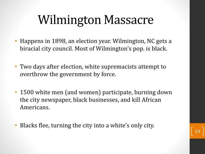 Wilmington Massacre
