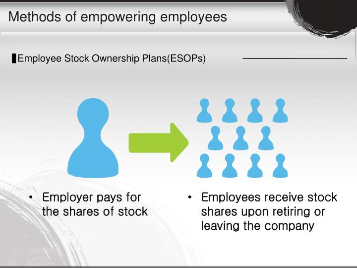 Methods of empowering employees