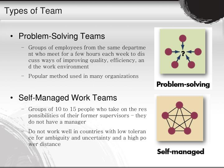 Types of Team