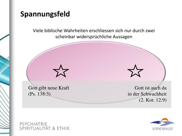 Spannungsfeld