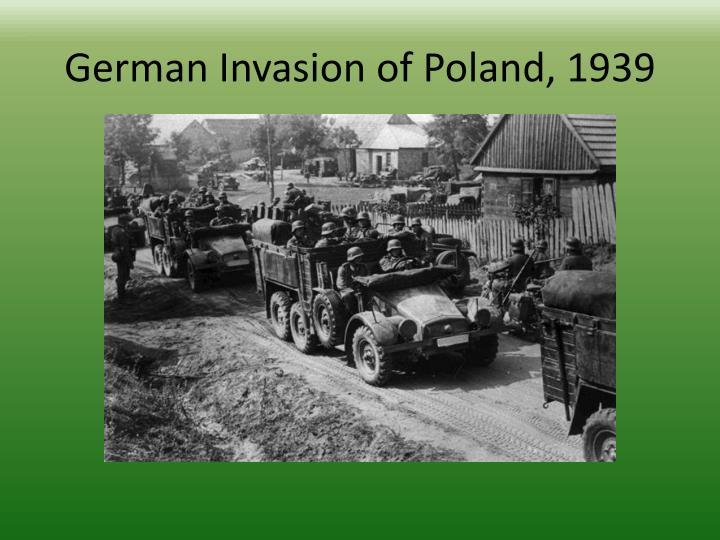 German Invasion of Poland, 1939