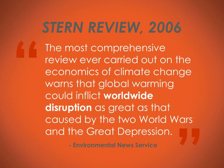 STERN REVIEW, 2006