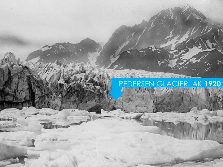 PEDERSEN GLACIER, AK