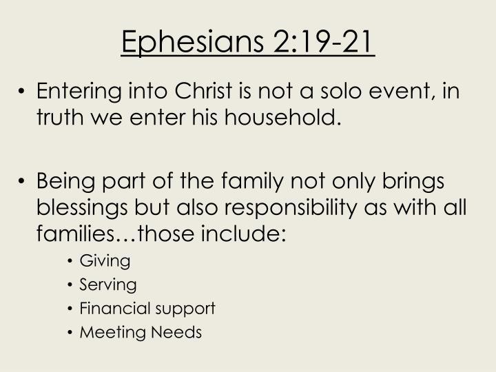Ephesians 2:19-21