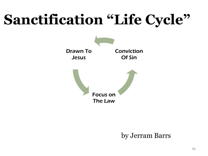 "Sanctification ""Life Cycle"""