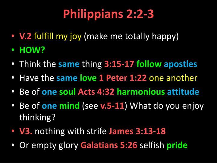 Philippians 2:2-3