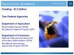 recovery act broadband