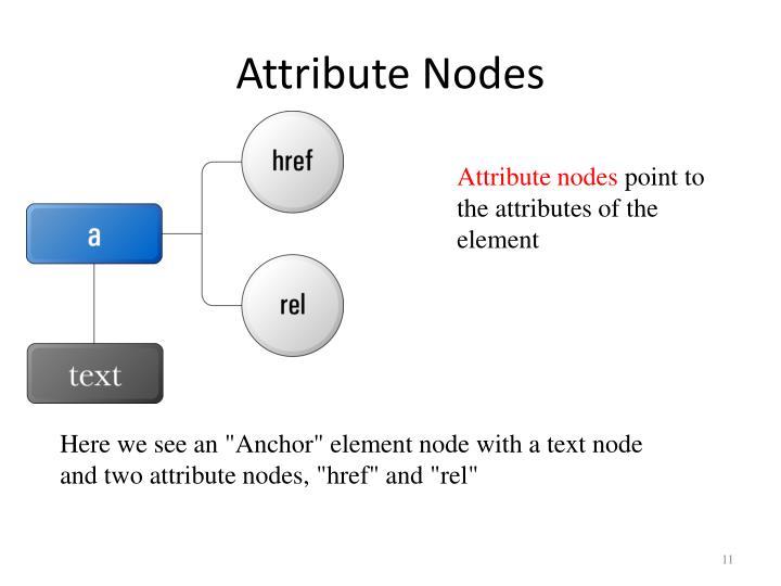 Attribute Nodes