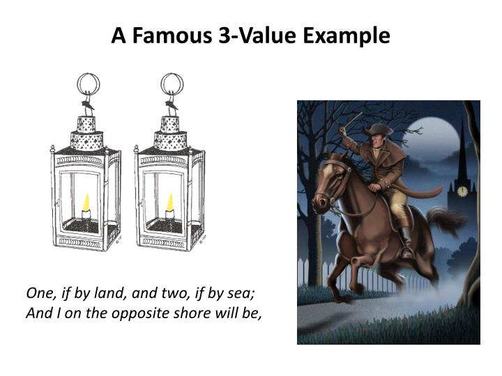A Famous 3-Value Example