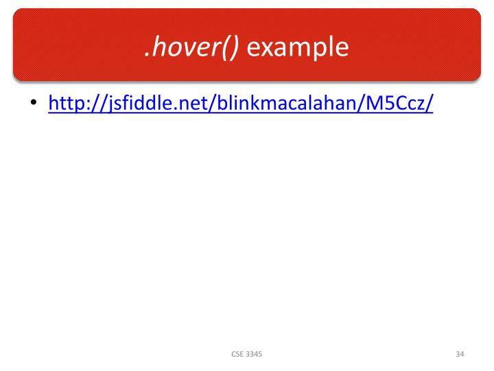 .hover()