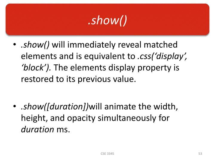 .show()
