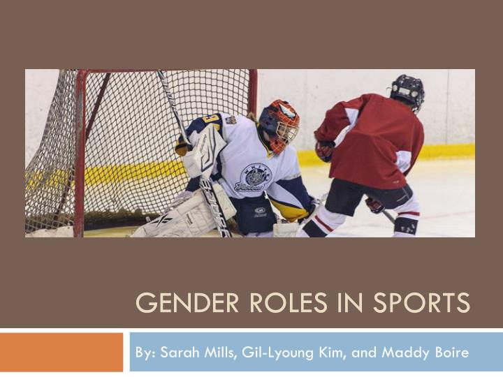 gender roles in sports