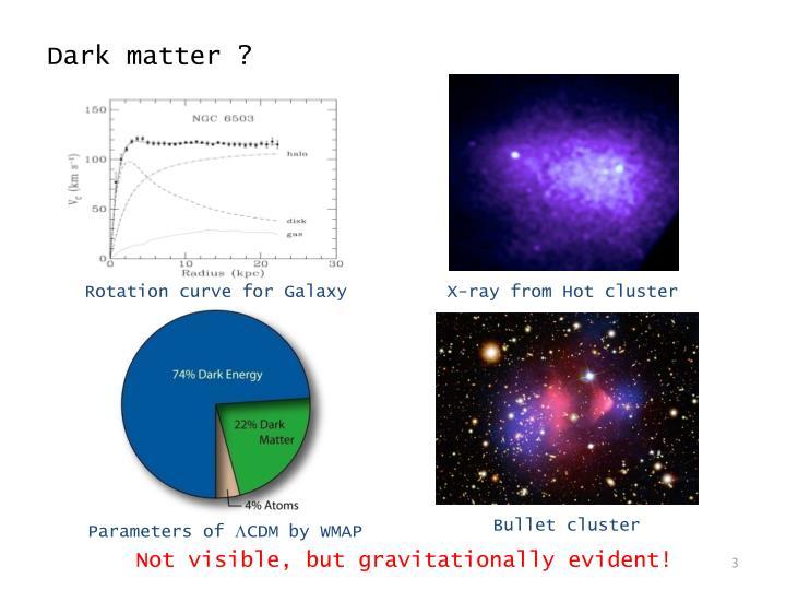 Dark matter ?