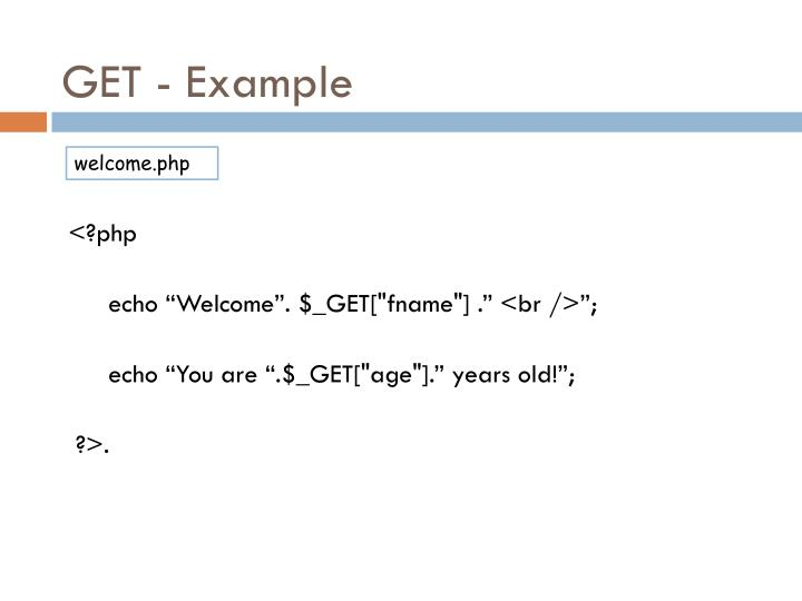 GET - Example