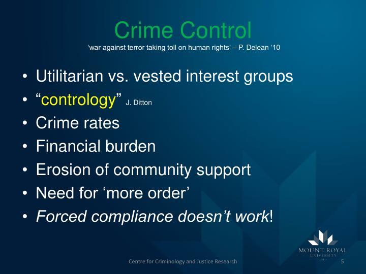 Crime Control