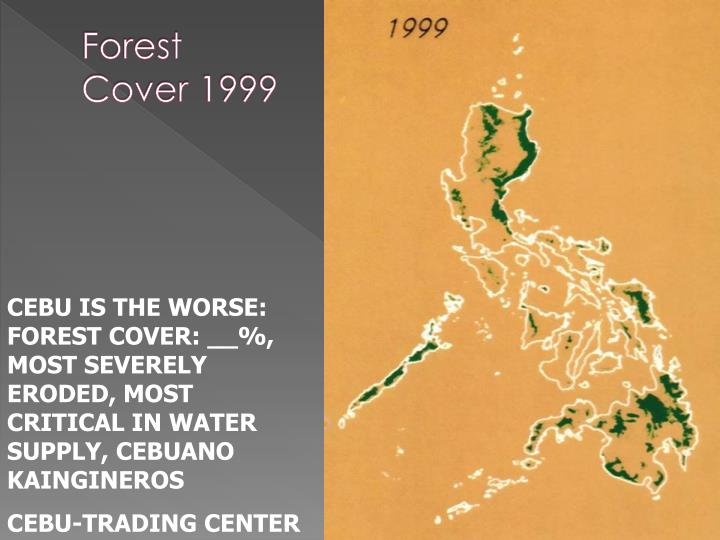 Forest Cover 1999