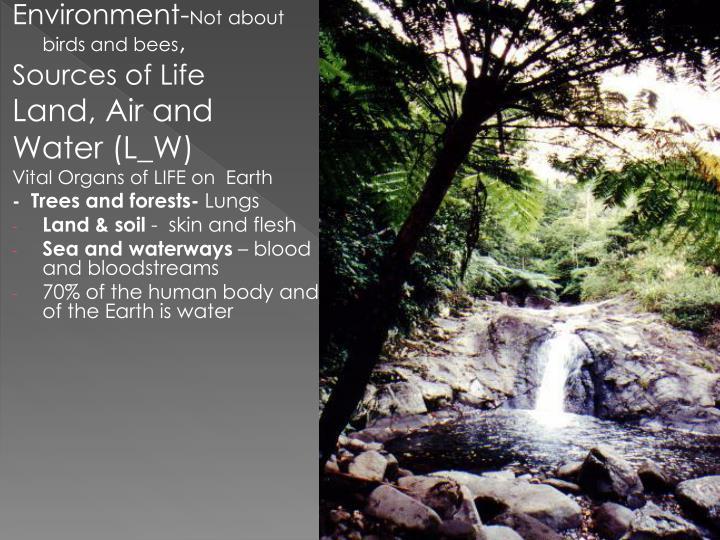 Environment-