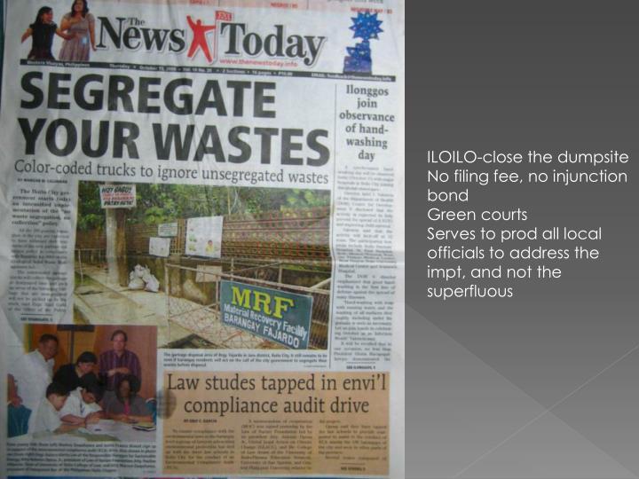ILOILO-close the dumpsite