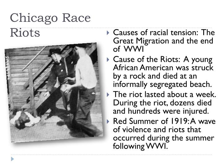Chicago Race Riots