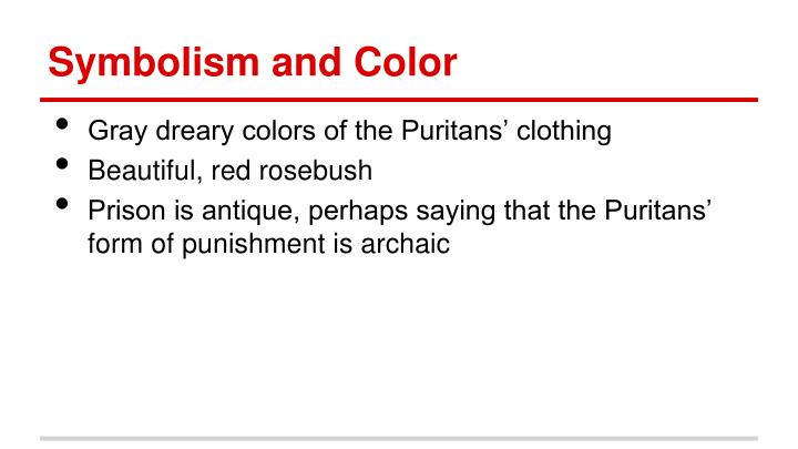 Symbolism and Color