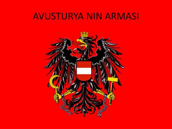 AVUSTURYA NIN ARMASI