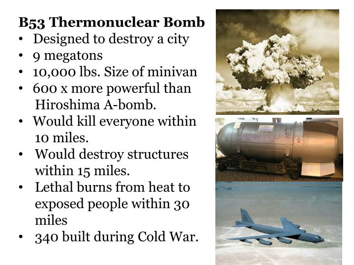 B53 Thermonuclear Bomb