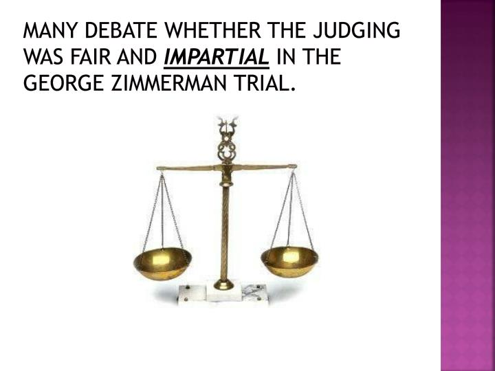 Many debate whether the judging was fair and