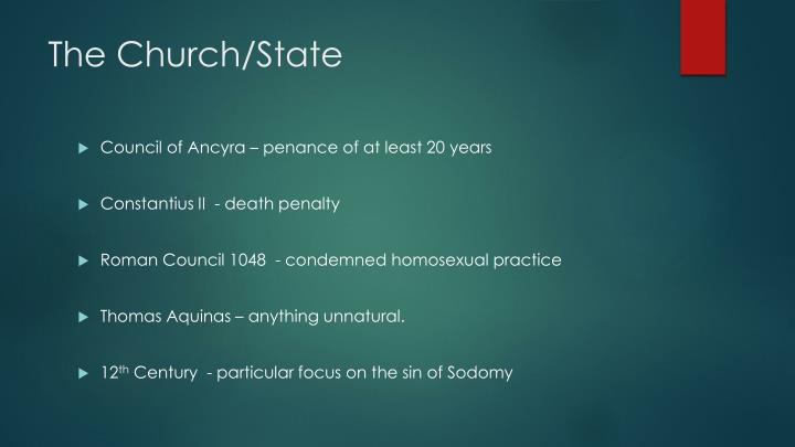The Church/State