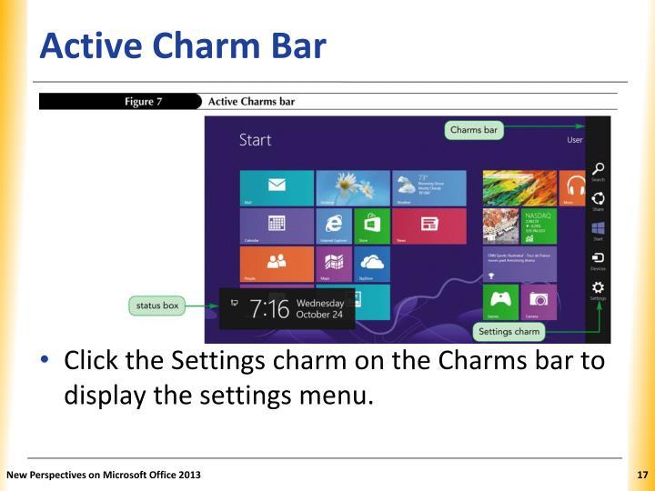 Active Charm Bar