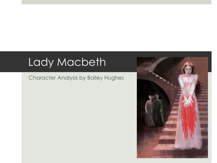 lady macbeth as a tragic character essay