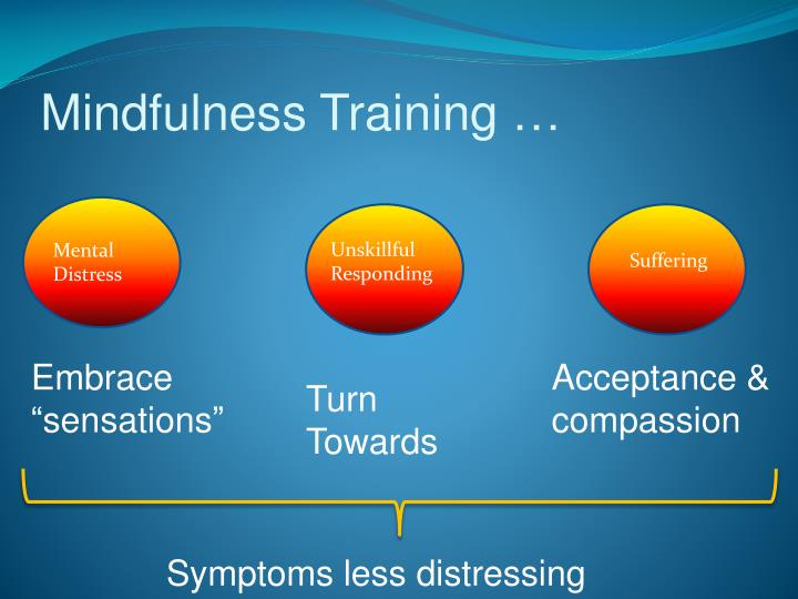 Mindfulness Training …