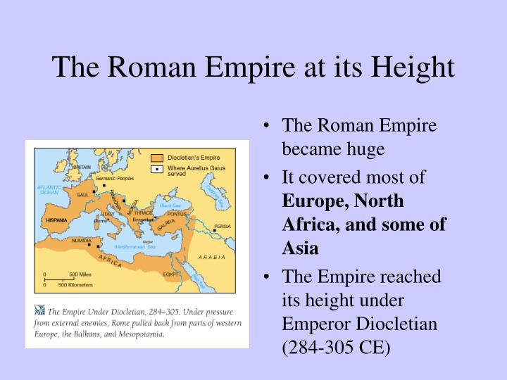 The Roman Empire at its Height