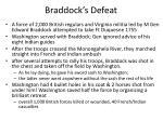 braddock s defeat