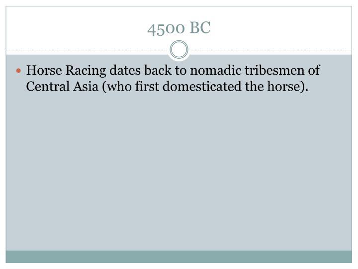 4500 BC