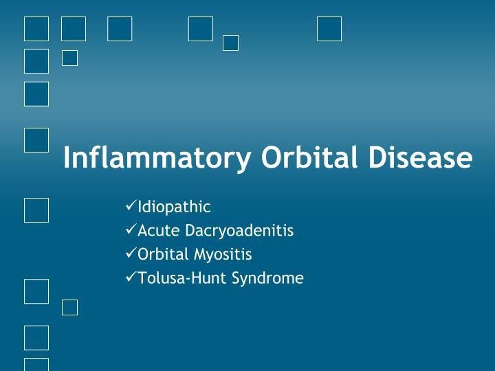 Inflammatory Orbital Disease