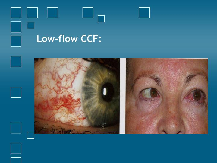 Low-flow CCF: