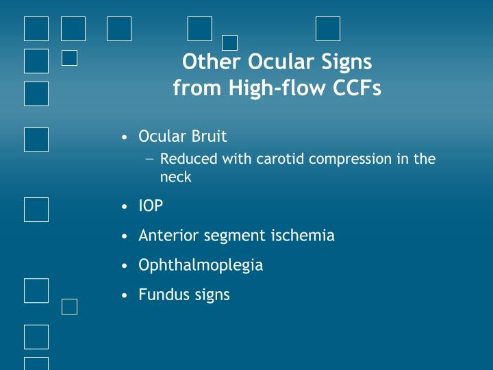 Other Ocular Signs