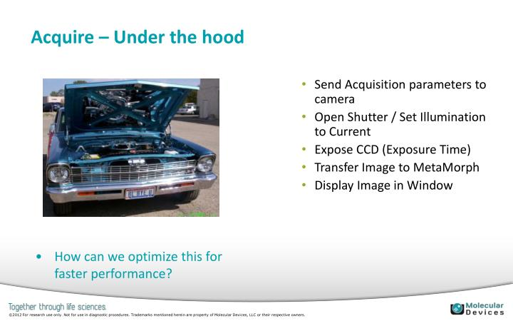 Acquire – Under the hood