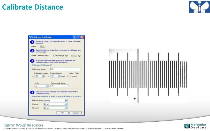 Calibrate Distance