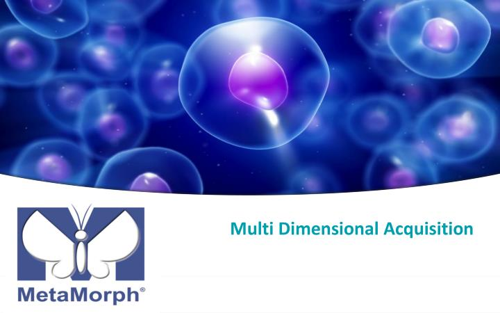 Multi Dimensional Acquisition