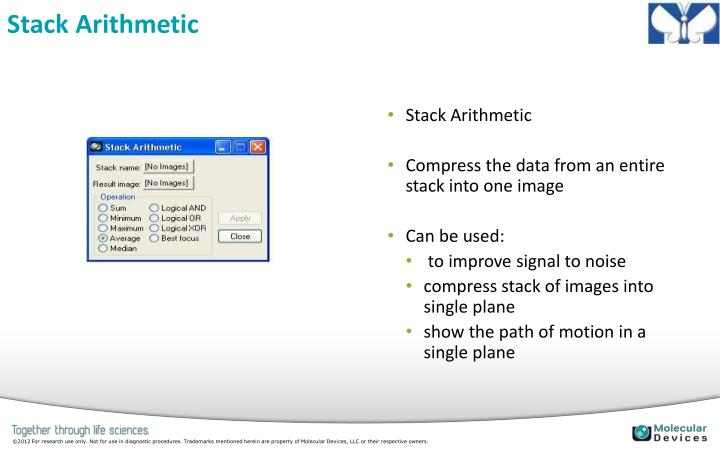 Stack Arithmetic